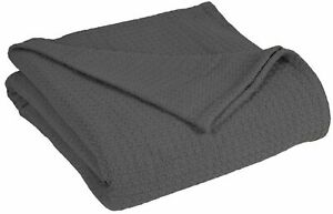Grand Hotel Collection Cotton Blanket