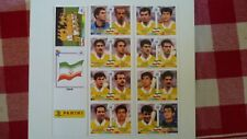 RARE PANINI EXTRA STICKERS PLANCHE IRAN WORLD CUP FRANCE 98 REPRINT REPLICA