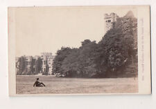 Vintage CDV Cardiff Castle View of the Inner Court