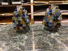 Czech or Murano Grape Lamp Shades Art Glass