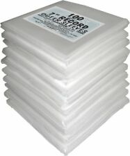 """(1000) 07SE03OS 7"""" 45rpm Record OUTER SLEEVES 7.5x7.5 Bags Covers High Clarity"""