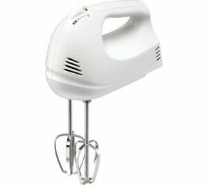ESSENTIALS C12HMW17 Hand Food Mixer Electric - White - Currys
