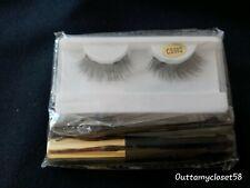 False Eyelash Kit. Nwob. Magnetic Eyeliner & Tweezers included. Cd Sissy Tgirl
