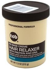 TCB No Base Hair Relaxer Creme, Super 7.5 oz (Pack of 8)