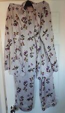 Ladies Rosie for Autograph (M&S) Pyjamas Lilac Mix Size 14 Excellent Condition