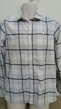 Men's Burton Longsleeve Plaid Shirt  M Button Up