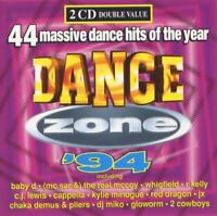 DANCE ZONE '94 various (2X CD, compilation, 1994) house, Euro house, synth pop