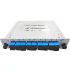 1X8 Blade optical splitter,PLC  carrier-class fiber optic splitter SC-UPC