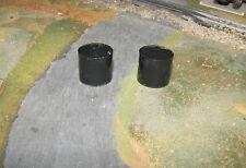 1/64 Custom Farm Toy Black Water Tanks - Qty 2