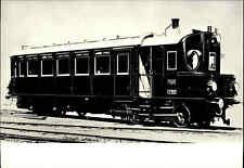 Eisenbahn Motiv-Postkarte CSSR Dampf-Triebwagen Steam Railcae Locomotive Train