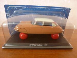 Citroën ID 19 sur Ballons - 1959 - 1:43 -