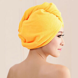 Microfibre After Shower Hair Drying Wrap Womens Girls Lady's Towel