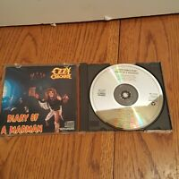 Ozzy Osbourne Diary of a Madman CD EARLY PRESS 1986 Jet ZK 37492 Black Sabbath