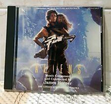 Aliens - James Horner - OST - CD - First edition - Varese Sarabande