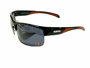 San Francisco 49ers NFL Polarized Wrap Sunglasses UV 400- Half Rim