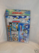 NEW IN PACKAGE MOBILE SUIT GUNDAM WING  9 PC STATIONARY KIT, PENCILS,