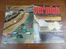 Rare revue SCRATCH FORMULE 1 SPORT AUTOMOBILE No 12 Janvier 1974