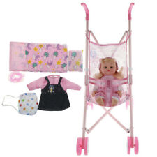 Baby Doll Stroller with Doll and Accessories Playset -Great Gift for Kids #1