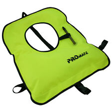 Snorkel Vest for Big and Tall Adult 240 - 320 lbs Yellow Snorkeling Life Jacket