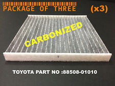 (x3) FC35644C(CARBON) FOR TOYOTA TACOMA 2005 - 2016 CABIN  FILTER  PACKAGE OF 3
