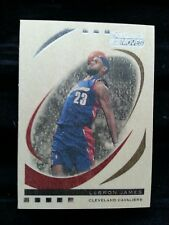 LeBRON JAMES 2006-07 TOPPS TRADEMARK MOVES WOOD #/75! CAVALIERS RARE SP! INSERT!