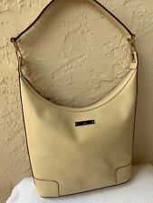125f1aeba6e3 GUCCI SUPREME IVORY COLOR LEATHER BUCKET STYLE SHOULDER BAG  1250