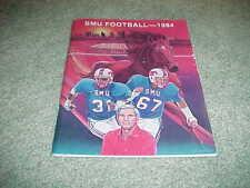 1984 SMU Mustangs Football Media Guide