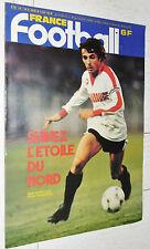 FRANCE FOOTBALL 1791 05/08 1980 POSTER PARIS PSG BALTIMORE SCO SIMON LOSC