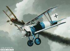 Jasta 12 aviation art post card  Siemens Fighter Ace Leutnant Hermann Becker