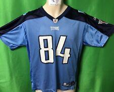 J563 NFL Tennessee Titans Randy Moss #84 Reebok Jersey Youth XL 18-20