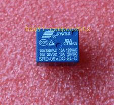 5pcs SRD-09VDC-SL-C 9V DC SONGLE Power Relay SRD-09VDC-SL-C PCB Type SPDT