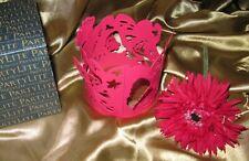 Neu! PartyLite Duftwachsglas Aufsatz Schmetterling P93048 + PartyLite Teelicht