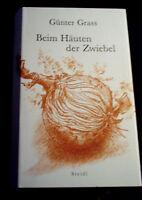 """Günter Grass """"Beim Häuten der Zwiebel"""" gebundene Ausgabe Steidl 1.Auflage 2006"""