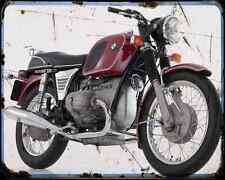 Bmw R 60 5 1 A4 Metal Sign Motorbike Vintage Aged