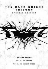 The Dark Knight Trilogy DVD 2016 Special Edition - Includes Slipcover & Print