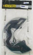 Acerbis Spider Evolution Front Disc Cover Black/Silver Mount Kit Sold Separately