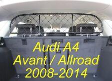 Filet Grille de séparation coffre pour AUDI A4 Avant 2008> pour chiens et bagage