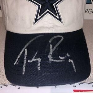 TONY ROMO DALLAS COWBOYS SIGNED AUTOGRAPHED FOOTBALL HAT CAP NEW NWOT-COA