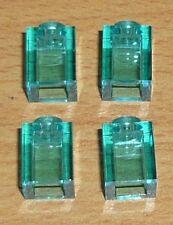 Lego Harry Potter 4 Steine 1 x 1 in transparent türkis