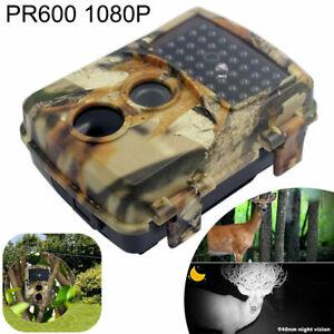 Jagd Trail Kamera 20mp 1080p Wildlife Cam Timer Bewegungserkennung Nachtsicht