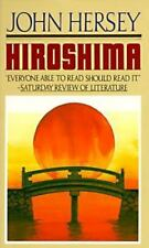 Hiroshima by John R. Hersey (1989, Paperback) slight shelp wear