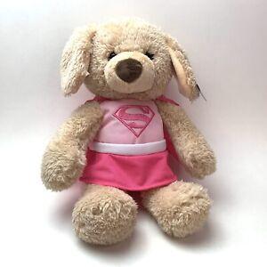 Gund Supergirl Yvette Puppy Dog Plush Toy - DC Comics Stuffed Animal