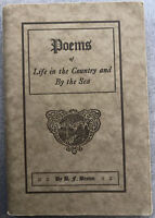 Poems of Life in the Country and By the Sea by Benj F. Brown 1921
