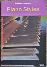 The Wonderful Music Company - Piano Styles - Music Book By Barnaby Byron