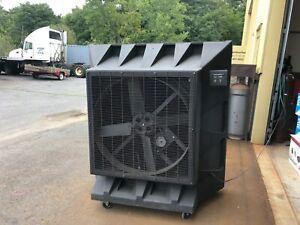 "fan cooler -Port-A-Cool 36"" Single-Speed, 1/2 H.P. Belt Drive Portable Evaporat"