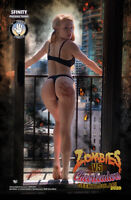 Zombies vs Cheerleaders Geektacular 2020 NEW Gemini Rose Cover Limited to 100 NM