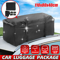 Large Water Resistant Car Van  Roof Top Travel Cargo Bag Carrier Box