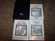 2000 Ford F-150 Owner User Guide Operator Manual XL XLT Work Series Lariat V6 V8