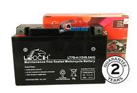 Leoch YT7-B4 Super sealed Gel Motorcycle battery. YT7B-BS Maintenance Free