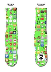 #722 Emoji Brand New With Tags From Production Line Savvy Sox